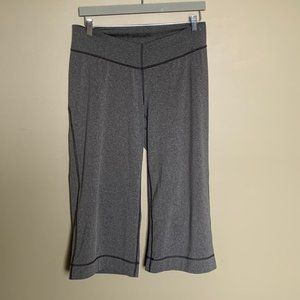 Arc'teryx grey wide leg crop yoga pants